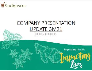 Company Update 3M21